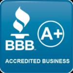 BBB A+ Sticker